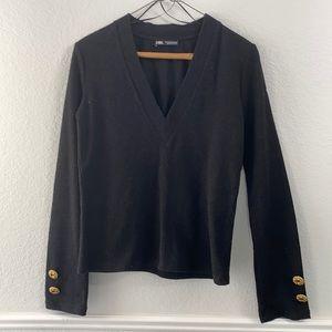 Black Zara Sweater Size Small